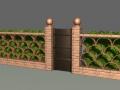 fence04door